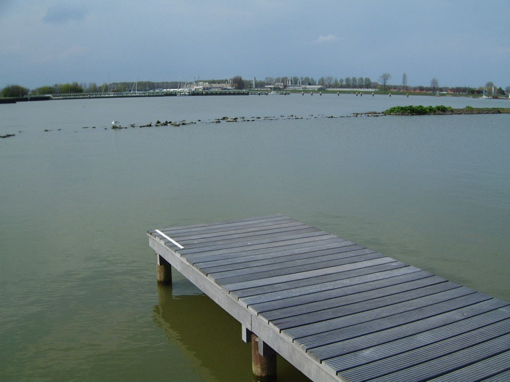 Jetty Over Water